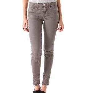 J BRAND Gray Skinny Leg Ankle Jeans in Heaven